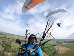 GOLD AND SILVER FOR THE POLINI THOR PARAMOTORS